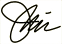 Jim's handwritten signature